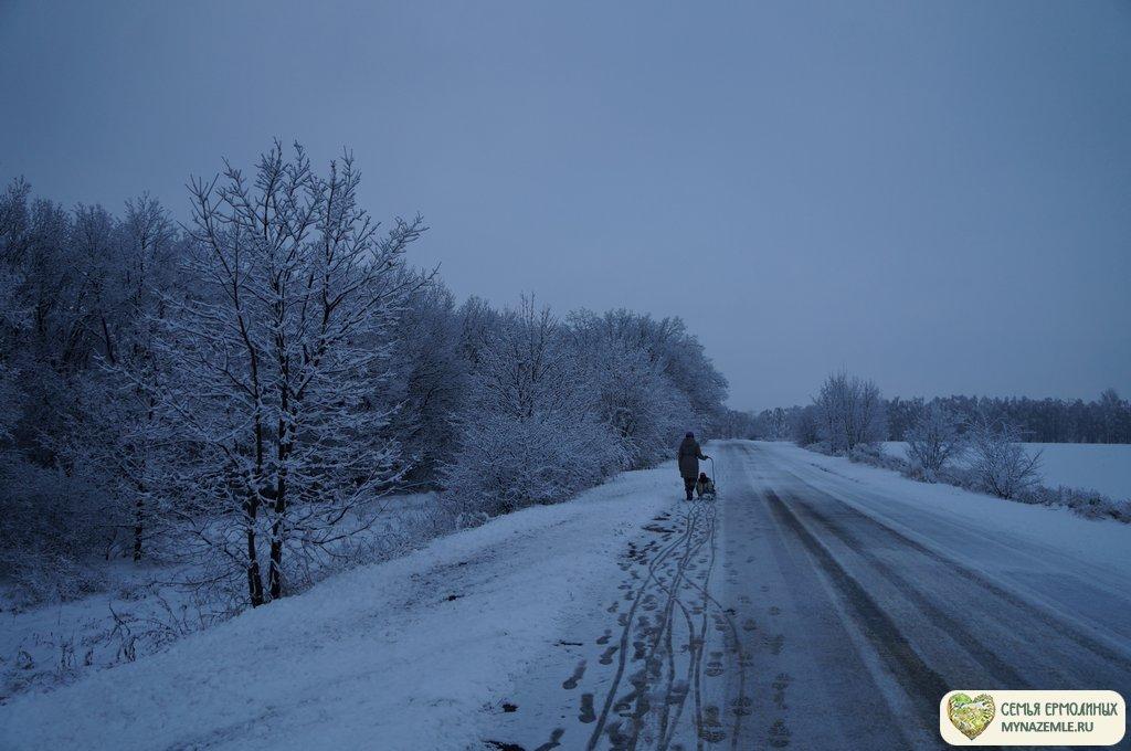 dsc08347 - Зимой в деревне скучно? Это не про нас!
